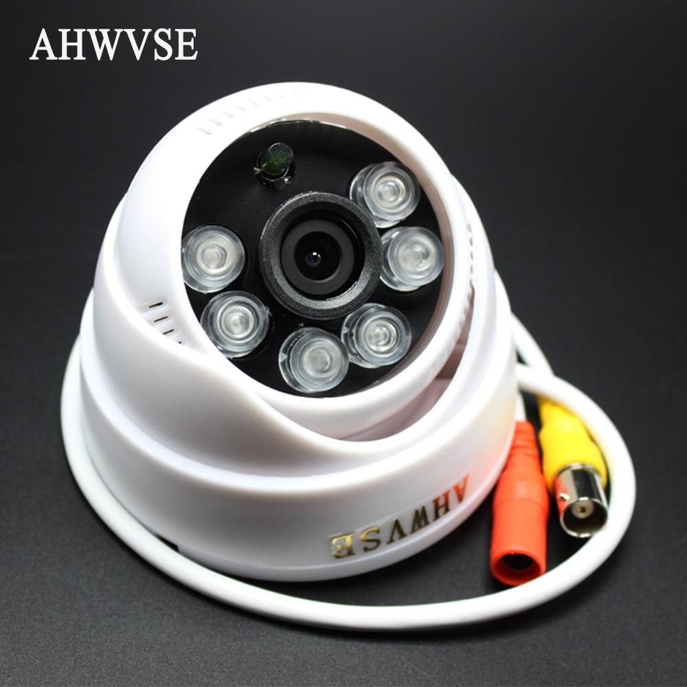 AHWVSE Ultra Low Illumination AHDM AHD Camera CCTV IR Cut Filter Indoor IR Dome Mini Camera 720P with HD 3.6mm Lens free shipping hot selling 720p 20m ir range plastic ir dome hd ahd camera wholesale and retail