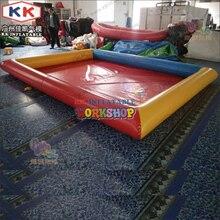 Детский бассейн из ПВХ надувной большой взрослый детский бассейн на заказ