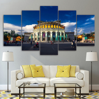 Modular Pictures Wall Art Painting 5 Pieces Armenia Opera Landscape HD Print Canvas Fashion For Living Room Decor Poster