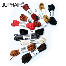 JUP1-12 Pair Black Unisex Rounds Cotton Sports Brand Rounds Shoelaces Casual Sports Boot Shoes Shoelaces Twist Rounds Shoelaces