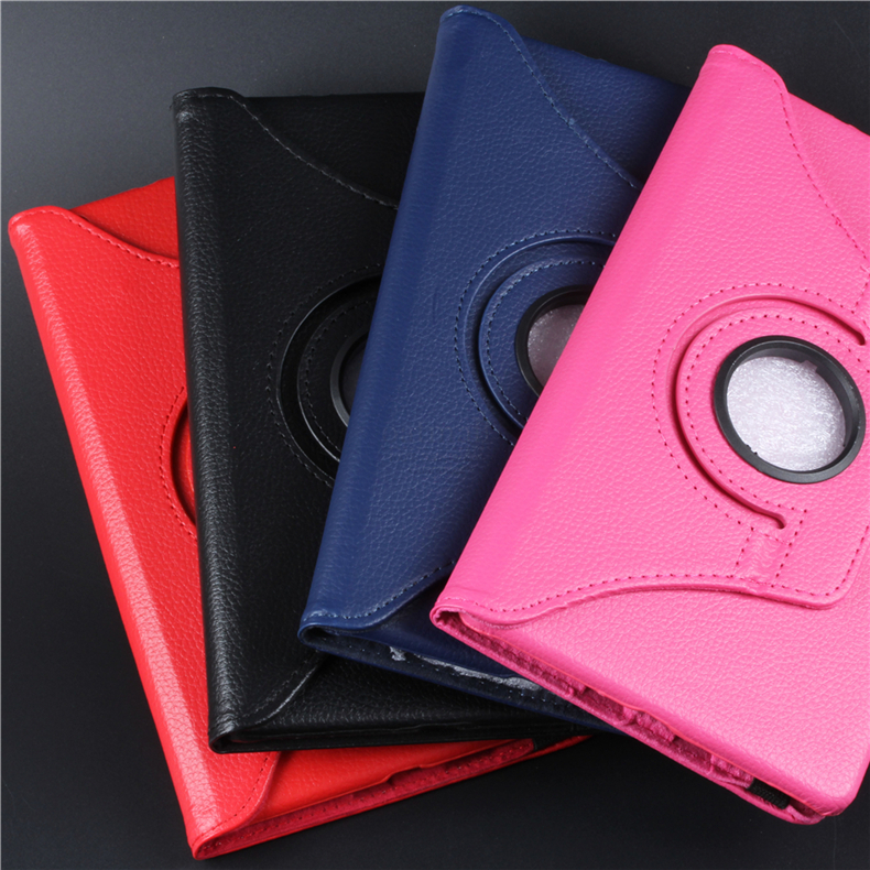 360 Degree Rotating PU Leather Flip Cover For Huawei Mediapad M3 Lite 10.1