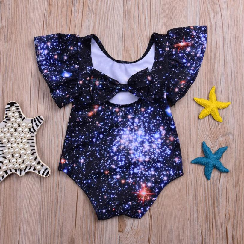 Children Swimsuit Kids Girl Swimwear Swims Swimsuits Romper Bathing Outfits Infant Kids Baby Girls 3D Printing One Piece #xqx