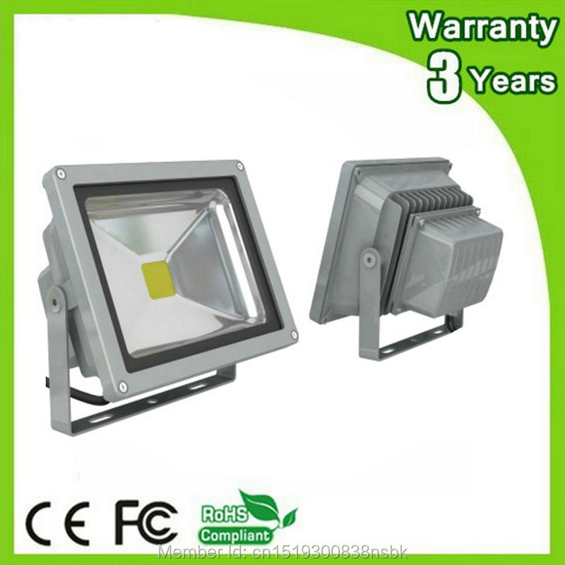 (12PCS / Lot) DC12V 24V Garanti 3 år 50W LED Flood Light 12V LED - Utomhusbelysning