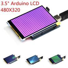 """무료 shippping! 5 개/몫 LCD 모듈 3.5 인치 TFT LCD 화면 3.5 """"Arduino UNO R3 보드 및 지원 메가 2560 R3"""