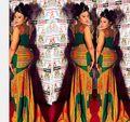 Африканские Женская Одежда Африканских Платье Халат Africaine Горячие Продажа Специальное Предложение Полиэстер Традиционные Платья Печати Женской Одежды