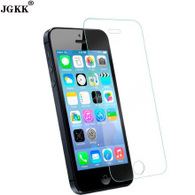 JGKK Premium Tempered Glass for iPhone 6 7 8 8Plus 7Plus screen protector for iPhone X 5 5C SE 5s 6s Explosion proof Glass flim