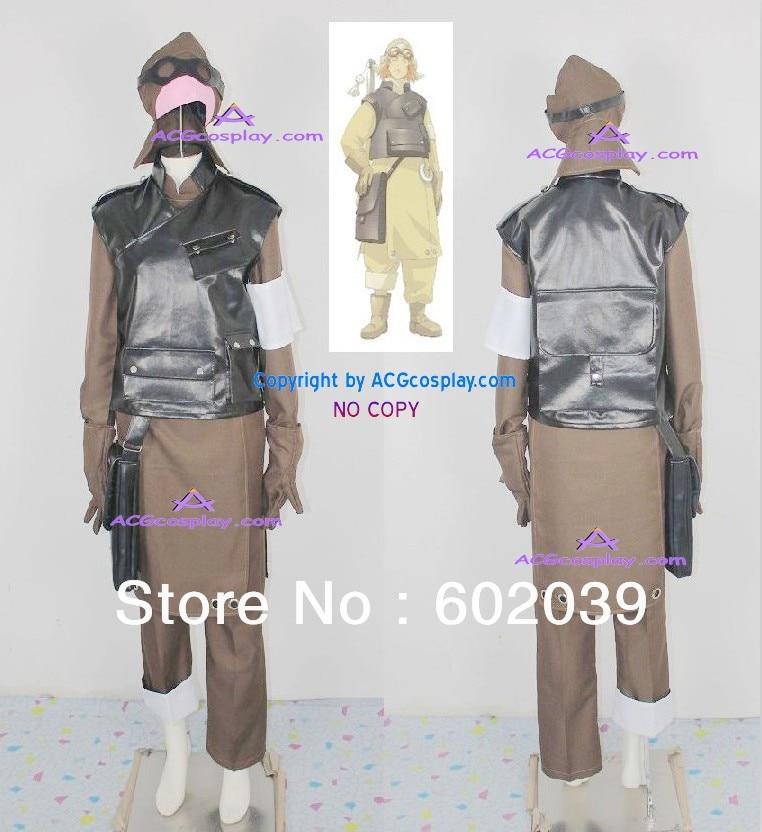 samurai 7 hayashida heihachi cosplay costume include big