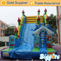 Inflatable Biggors Inflatable Castle Slide Inflatable Jumping Trampoline For Business