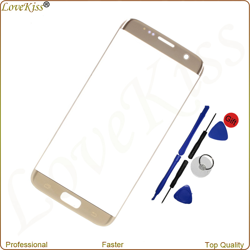 G930 Touch Panel Front Outer Glass For <font><b>Samsung</b></font> <font><b>Galaxy</b></font> <font><b>S7</b></font> G930F <font><b>G930FD</b></font> Screen Sensor Digitizer Lens <font><b>Display</b></font> Replacement Tools image