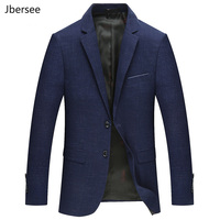 Spring Autumn Blazer Man Slim Fit Fashion Men Blazers Suit Jacket Men Casual Plus Size Dress