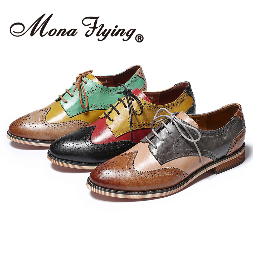 Mona Flying Women Leather Hand made