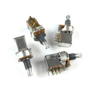 Alpha 500K 250K Audio Taper Push-Pull-Schalter POT für Elektrische Gitarre/Bass Potentiometer volumen und ton steuert A500K/B500K
