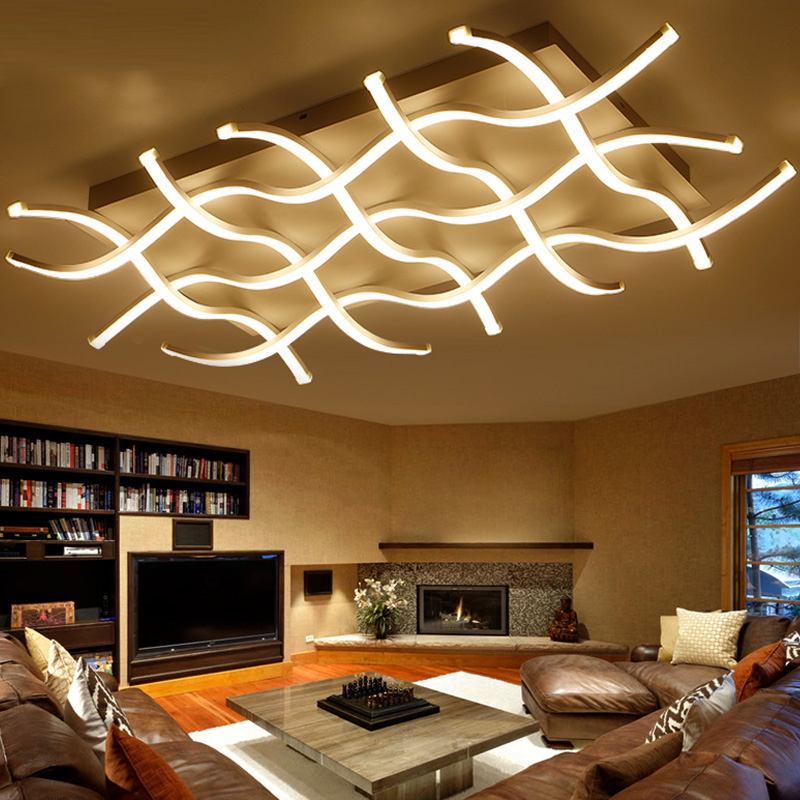 Ceiling Lights Led Acrylic Modern Design Kitchen Light Lamparas De Fixtures Fittings Luminaire Deckenleuchten Livingroom Lamp