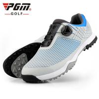 2019 New summer MO EYES Golf Waterproof Soft Comfort IP Injection Men's Shoes Rotating Buckle Non Slip Spikes Golf Sneakers