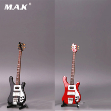 1/6 Scale Action Figure Accessory Red/Black Electric Guitar Model Toy with Box For 12