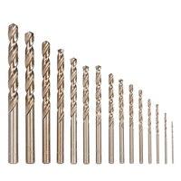 15PCS Set M35 Cobalt HSS Drill Bit Set 1 5 10mm Twist Drill Bit Straight Shank