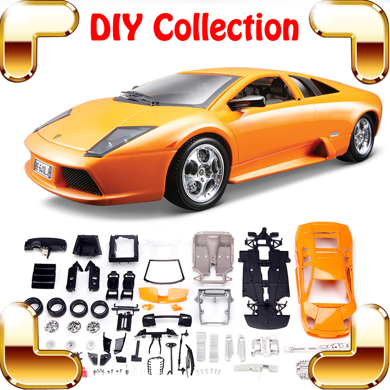 Christmas Gift 1/18 Model DIY Car Metal Collection Educational Toys Vehicle Assemble Game Big Scale Decoration Fans Fun Present футболка классическая printio знаки зодиака дева