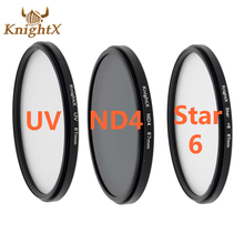 KnightX Full ND4 UV Star 6 Color ND Lens Filter 52mm 58mm ND For Canon T3i