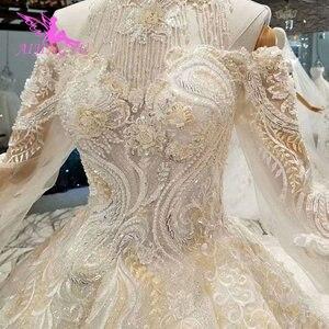 Image 5 - AIJINGYU свадебное платье и роскошные платья дешевые рядом со мной кружева индийские красивые платья свадебное платье принцессы