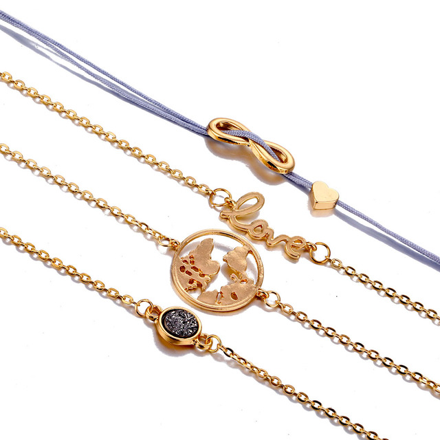 Bohemian Turtle Charm Bracelets