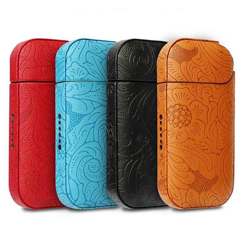 Горячий Стильный кожаный чехол плюс электронная сигарета PU кожаный чехол для IQOS 2,4