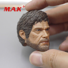 New 1:6 Scale Male Head Sculpt The Last of Us Joel Carving fit 12 Action Figure for Collection Normal Version as Gift