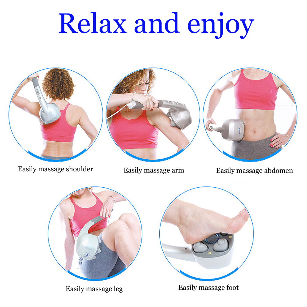 KIKI NEWGAIN Electric Massage Stick with Aion slimming power massager deep tissue massager High frequency vibration