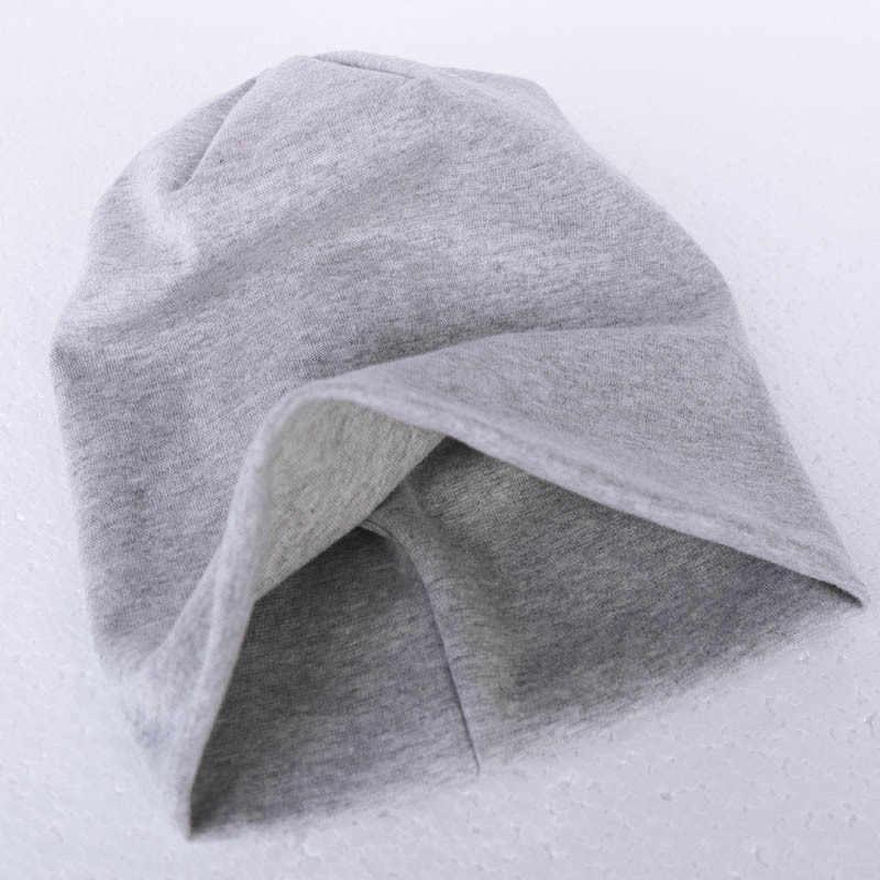 เด็กใหม่หมวกผ้าฝ้ายหมวกฤดูใบไม้ผลิฤดูใบไม้ร่วงหมวกเด็กหมวกผ้าพันคอสำหรับ BOY GIRL ฤดูหนาวสบายๆถักหมวกสีอบอุ่นเด็กหมวกคอ