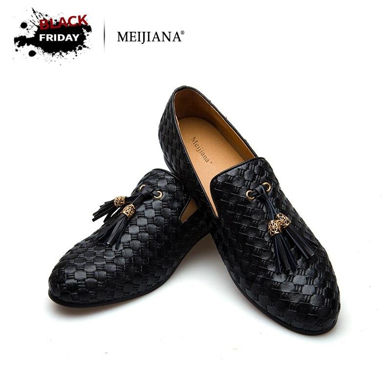 где купить MEiJiaNa brand men shoes 2017 New BV breathable comfortable men loafers luxury men's flats men casual shoes по лучшей цене