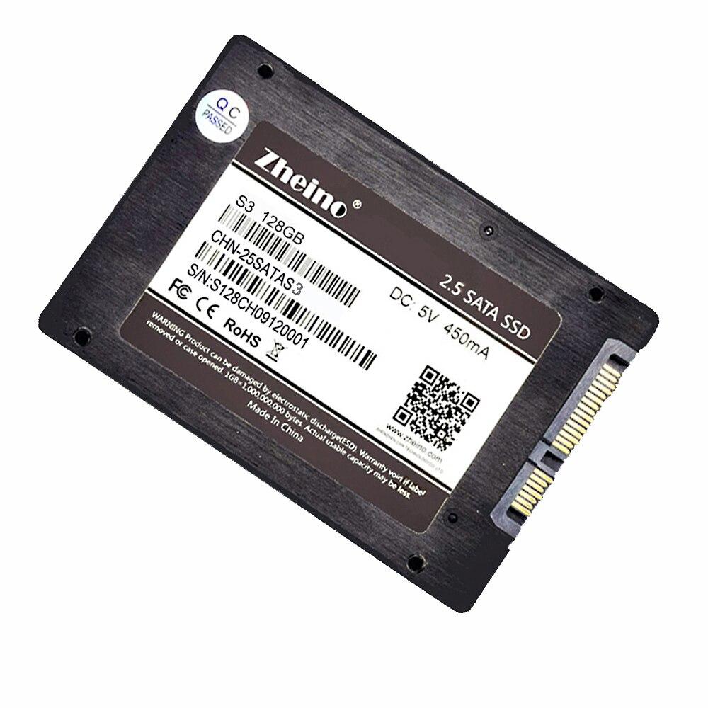 Zheino SATA3 SSD 128 gb 256 gb 512 gb gb gb 2.5 polegada 6 64 32 gb/s Disco Rígido Sólido promoção de disco SSD Para PC Laptop Desktop