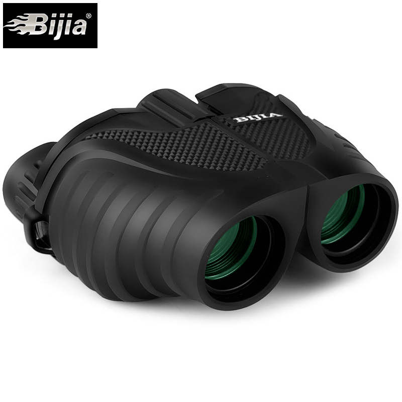 BIJIA 10X25 Mini Fernglas Professionelle HD Fernglas Teleskop Opernglas für Reise Konzert Outdoor Sport Jagd