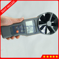 AZ8919 Digital anemometer price with temperature humidity CO2 air quality detector detects