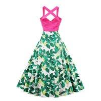 Sisjuly Women Summer Green Dress Girls Strapless Floral Vintage Style Dresses Female Summer Knee Length Strap