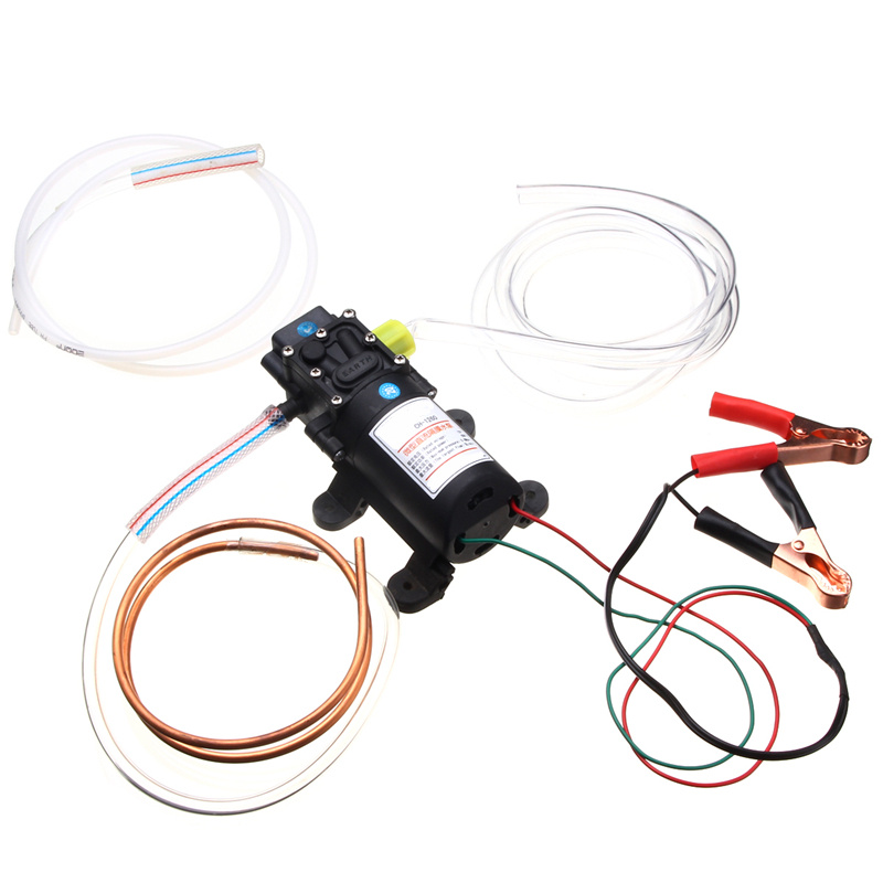 12 V 60 W Huile Fluide Liquide Extracteur 5L Bateau De Voiture Auto Pompe De Transfert Changement Kit Pompes, pièces Accessoires - 3