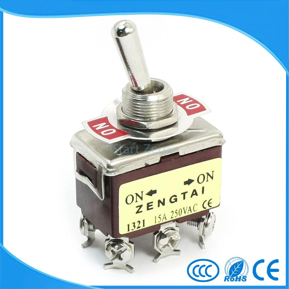 Toggle Switch Dpdt On 6 Terminal Ac 250v 15a E Ten1321 In Of Momentary Switches Spst Should Only Require Two Terminals From Lights Lighting Alibaba Group