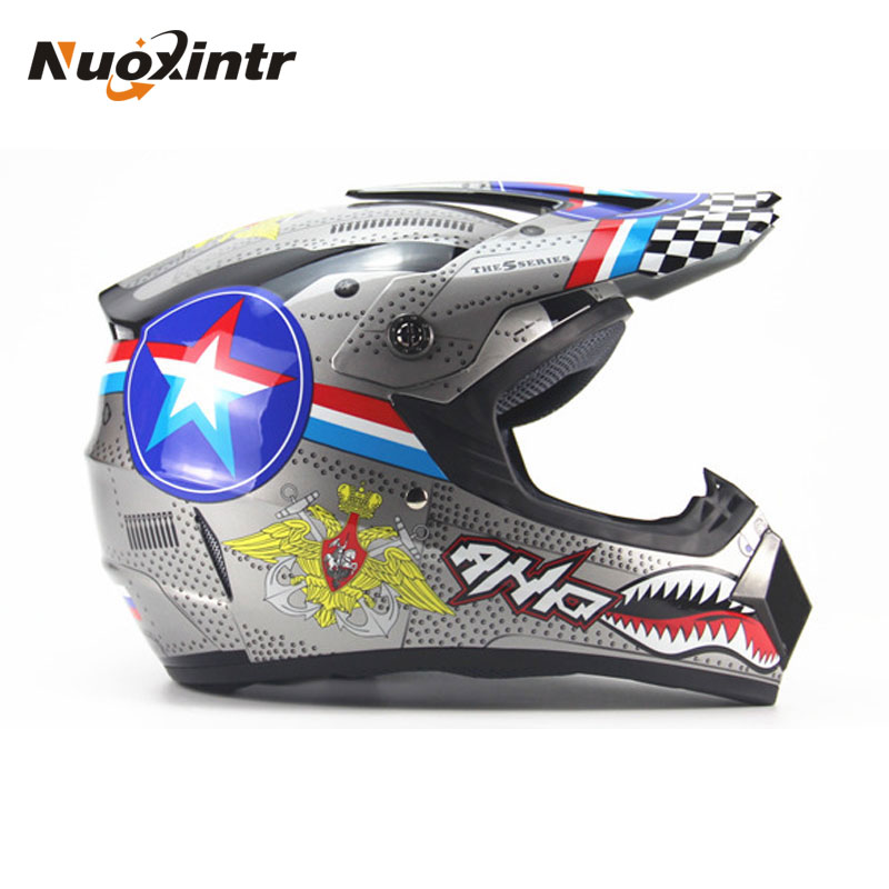 Nuoxintr High Quality Motorcycle Helmet Protective Capacete Motorcycle For Women & Men Off Road Motocross Helmets DOT Approved