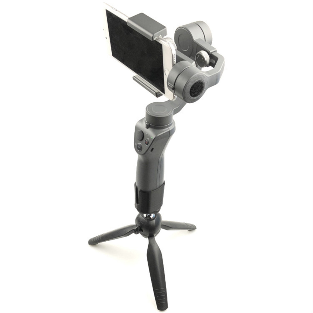 MASiKEN Portable Tripod bracket Handheld Camera Gimbal Stabilizer Holder for Osmo Mobile1 Osmo Mobile 2 Accessories