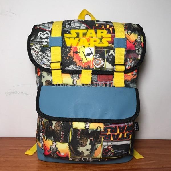 Nieuwe Star Wars De Kracht Wekt Rugzak Schooltassen voor Jongens Kids Kinderen Primaire Basisschool Studenten Book Bag Rugzak