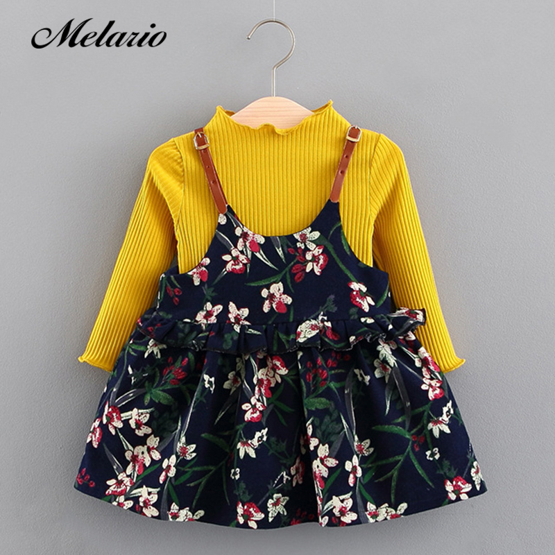 Melario Baby Dresses 2019Brand Baby girls clothes princess girls dress Ball of yarn Kids Clothes Children Party princess dresses