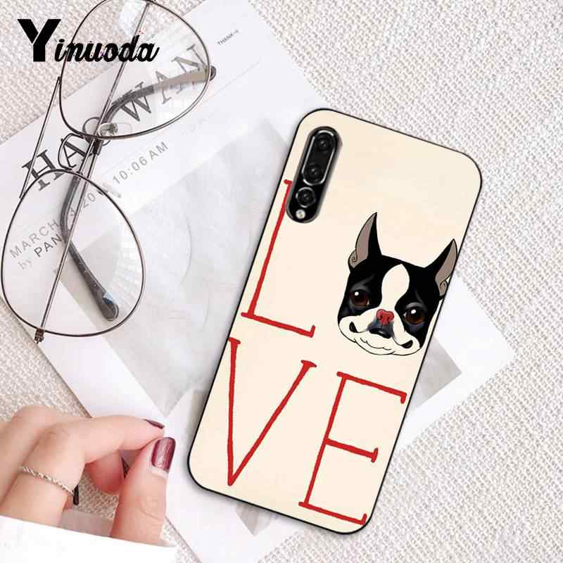 Yinuoda funny animal puppy lovely bulldog Colorful Phone Case for Huawei P9 P10 Plus Mate9 10 Mate10 Lite P20 Pro Honor10 View10