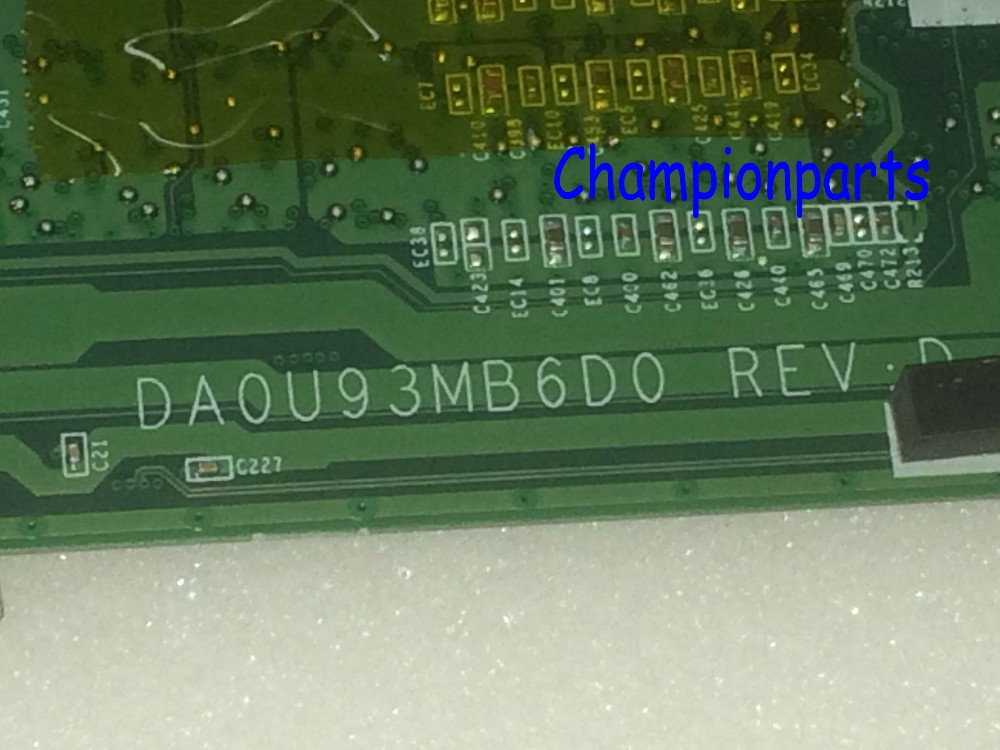 FREE SHIPPING PROMISED WORKING 734826-501 DA0U93MB6D0 REV : D  Laptop Motherboard For HP Pavilion 15-N NOTEBOOK PC 734826 001 laptop notebook motherboard system board 734826 501 for hp pavilion touchsmart 15 15 n a4 5000m series 100% tested