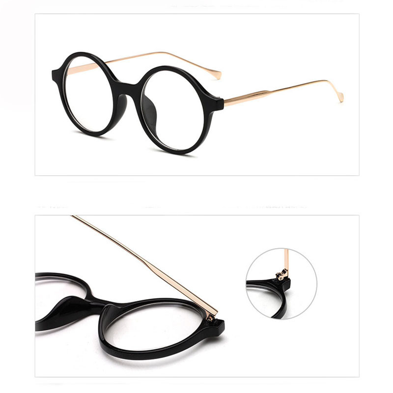 79e219caa68 CRUOXIBB 2017 Vintage Optical Womens Eye Glasses Frame Round Clear Lens Reading  Eyeglasses Lady Girls Lunettes UV400 Protection-in Sunglasses from Apparel  ...