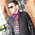 men's Winter Soft Scarf Business Gifts Warm Scarf Cotton Fashion lattice men's Scarf new