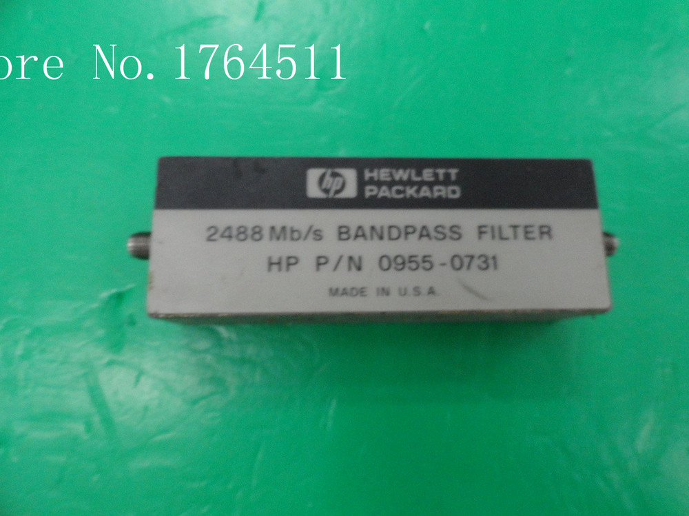 [BELLA] Agilent ORIGINAL 0955-0731 2488 Filter