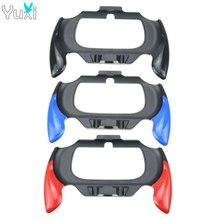 YuXi Red Blue Black Plastick Case Grip Handle Holder Bracket For Sony PlayStation PS Vita PSV 2000 Controller цена