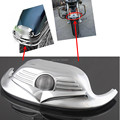 Free Shipping Motorcycle Chrome Front Fender ABS Mudguard Tip Trim For Harley FLHR Road K FLST FLHR Classic