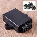 Motocicleta 12 V DC Módulo 6Pin Del Módulo de Control CDI Caja Unidad Digital de Encendido en forma para Suzuki GN250 Chopper