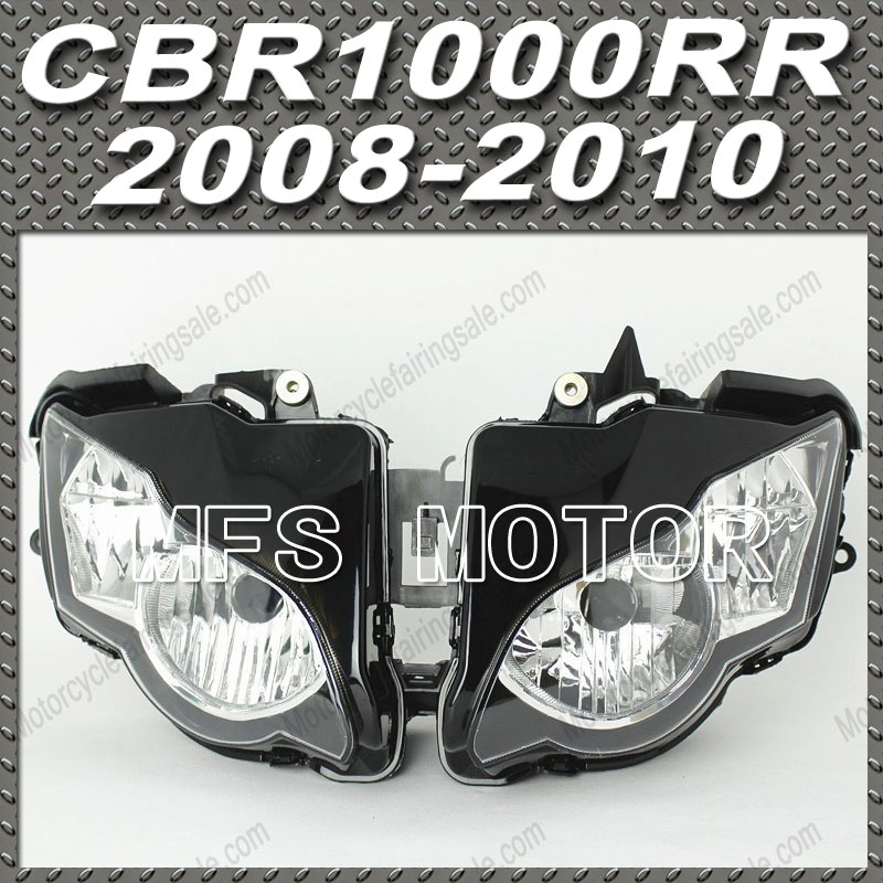 Headlight Lamp Assembly For Honda 09 10 CBR600RR F5 2009 2010 CBR 600 RR LENS Motorcycle Accessories