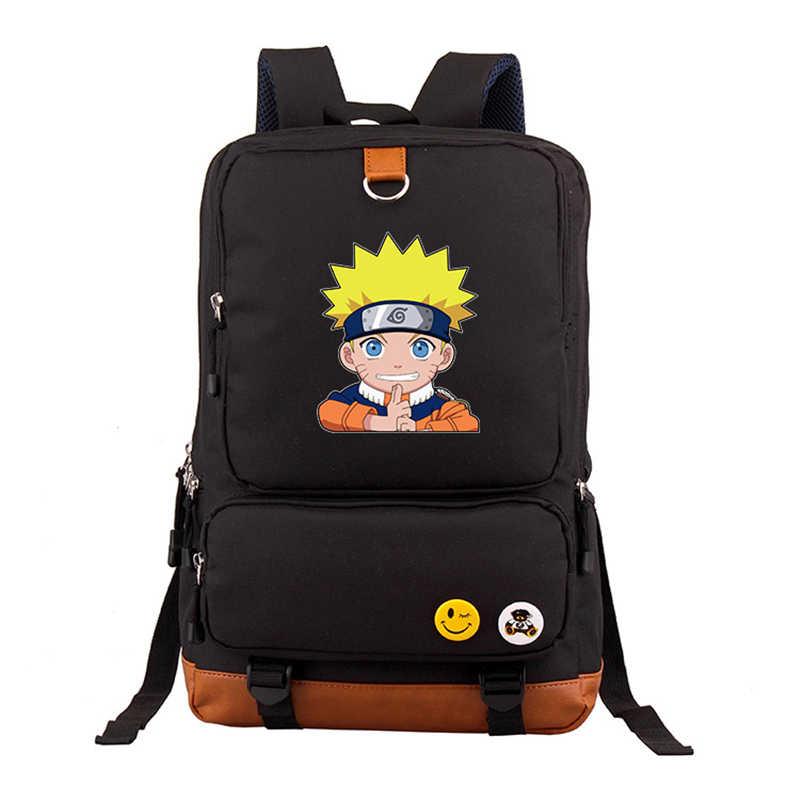 d3f87cb17091 Японии аниме Наруто рюкзак Наруто Косплэй сумка itachi Uchiha вентилятор  Для женщин Mochila Рюкзаки студент Школьные