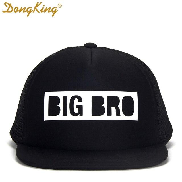 4c2e4725 DongKing Kids Trucker Hat BIG BRO Cap BIG SIS Hats LIL BRO LIL SIS Snapback  Hat
